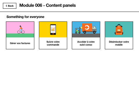 Content panel screenshot