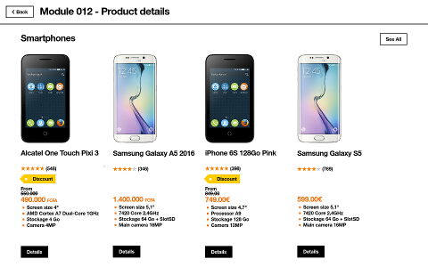 Product details screenshot